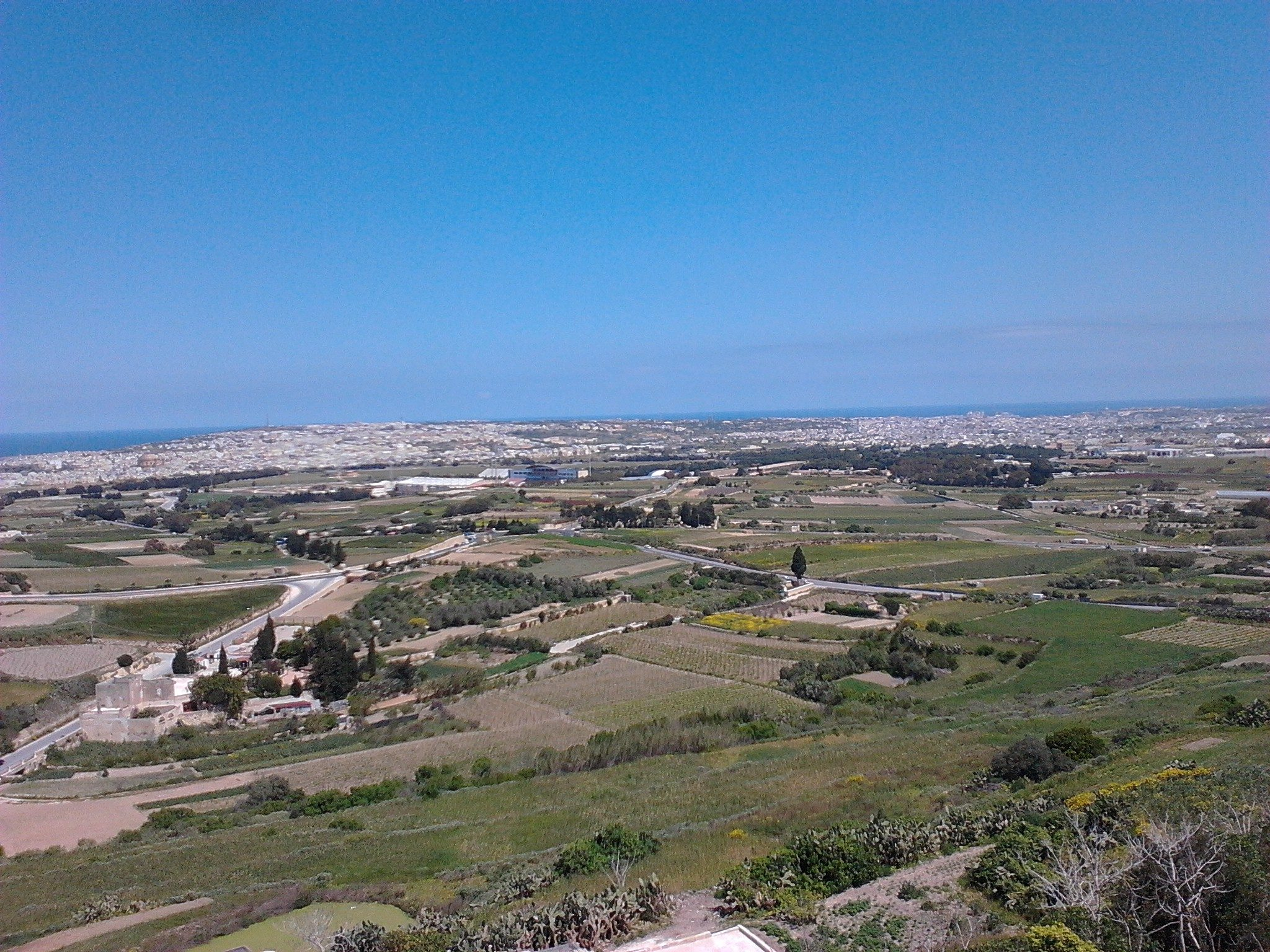 Veduta di Malta da Mdina
