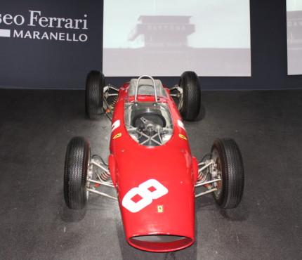 Ferrari 158 in esposizione a Maranello
