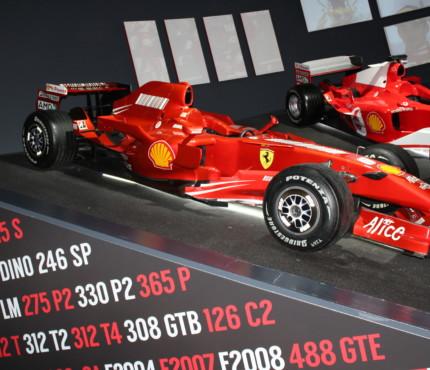 F1 in esposizione a Maranello