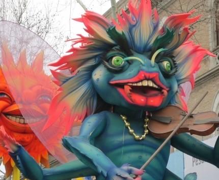 Carnevale di Fano: carri allegorici