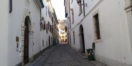 Via del borgo e Palazzi storici