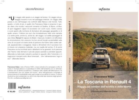 copertina libro la Toscana in Renault 4