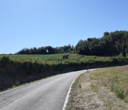 tratto strada Panoramica