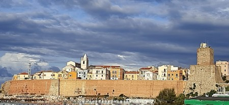 panoramica del Pese vecchio di Termoli