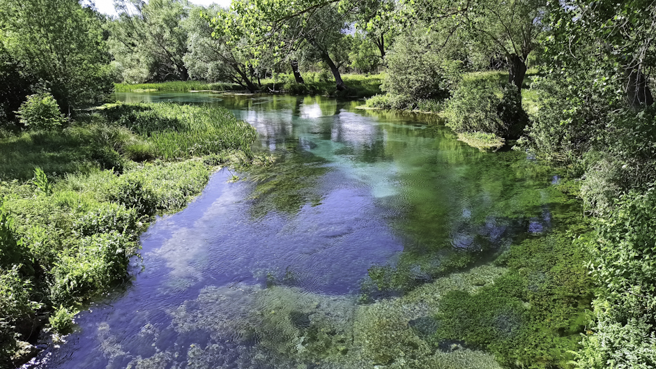 Il Tirino è un affluente dell'Aterno-Pescara
