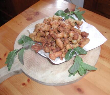 Il dolce tipico del carnevale di Sauris (Ud)