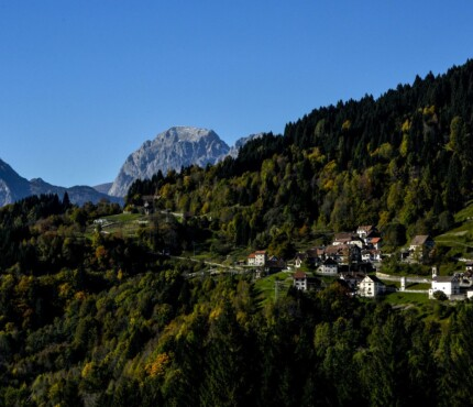 visione notturna montagne Carnia da Ravascletto