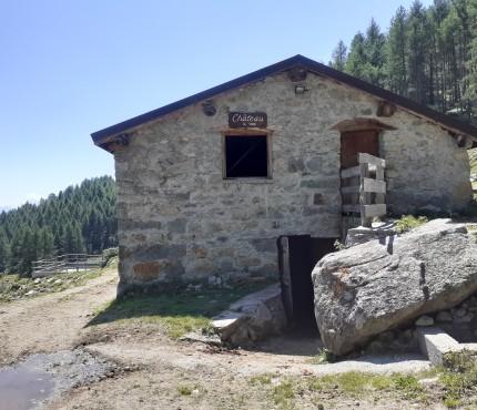 Alpeggio in quota Alpe Chateau Torgnon