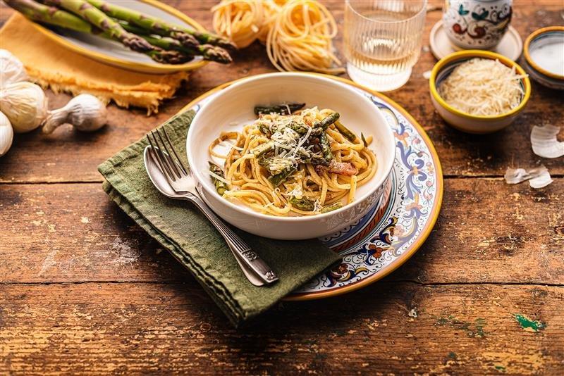 Stringozzi un mmodo per gustare l'Umbria