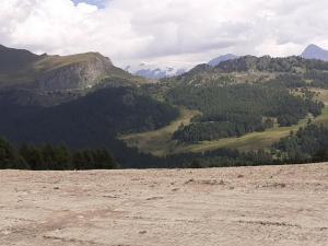 sterrato e Plateau Rosà